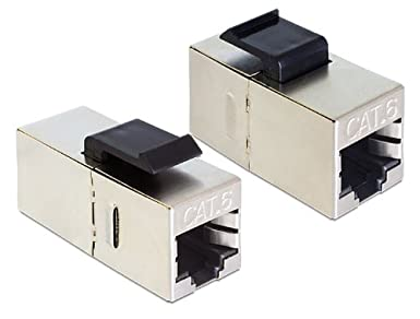 DeLOCK Keystone modulo RJ45 connettore femmina > connettore femmina Cat.6-86210