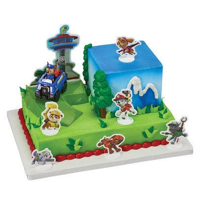 A1BakerySupplies PAW Patrol Chase to the Rescue Cake Decorating Set ()