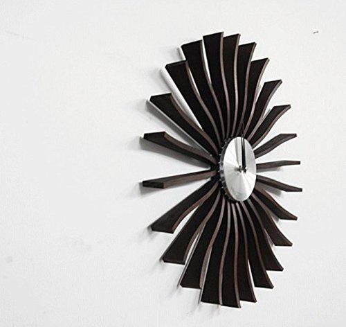 FLUTTER clock フラッタークロック 正規ライセンス商品 ジョージネルソン 壁掛時計 ネルソンクロック 高品質 デザイナー時計 B071V3B4KJ