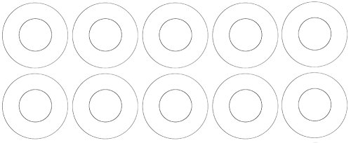 Virgin Teflon Sterling Seal CRG7530.1250.125.150X10 7530 Ring Gasket PTFE White Pack of 10 1-1//4 Pipe Size 1//8 Thick Pressure Class 150#