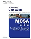 MCSA 70-410 Cert Guide R2: Installing and