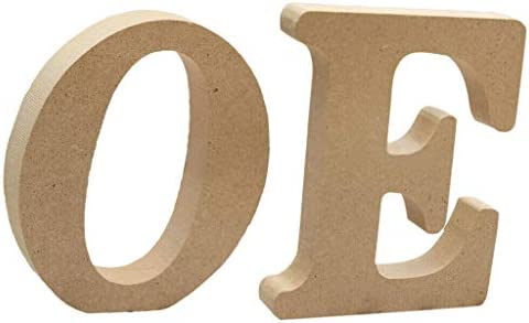 COMFORT INNOVATION Wooden Alphabet Craft Letter Plaque Wall Hanging Nursery Decor OE / COMFORT INNOVATION Wooden Alphabet Craft Letter Plaque Wall Hanging Nursery Decor OE