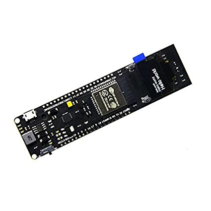 0.96 inch OLED+WEMOS ESP32 WiFi Bluetooth CP2102 18650 Battery Development