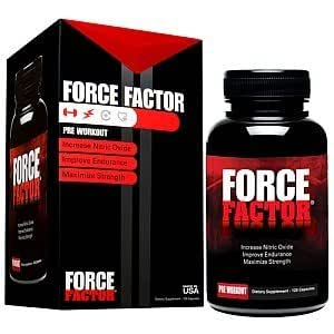 Amazon.com: Force Factor Pre Workout Capsules 120 Capsules
