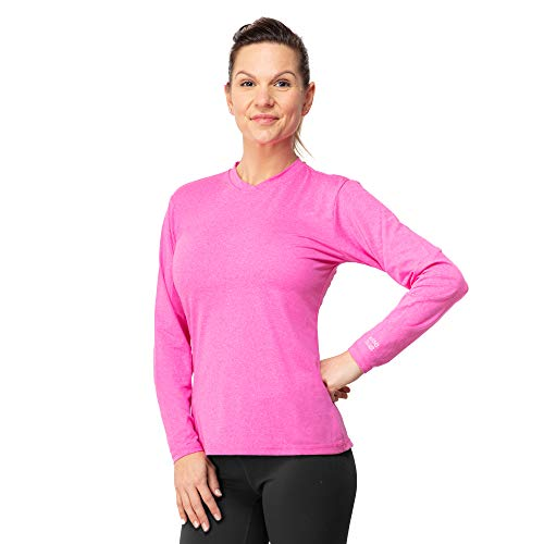 172121ff64 Womens Gym T-Shirt - Activewear, Stretch, Outdoor T-Shirt with UPF