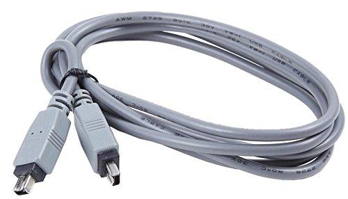 LETO Firewire 4-4 Pin DV Video Cable Cord For Canon ZR10 ZR300/MC ZR830 ZR930 GL1 GL2 by LETO