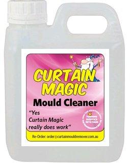 Caravan, Campervan & Boat Curtain Mould Remover Spray - 1L curtain magic