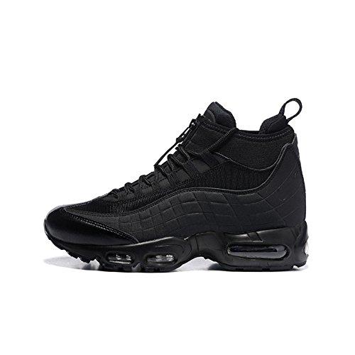 Men's Air Max 95 Sneakerboot Running Shoes Black Air Cushion Sneakers -