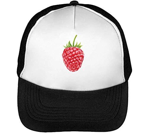 Blanco Gorras Snapback Raspberry Beisbol Hombre S Negro gqYUSU