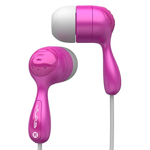 JLab Audio JBuds Hi-Fi Noise-Reducing Ear Buds, GUARANTEED FOR LIFE - Pink