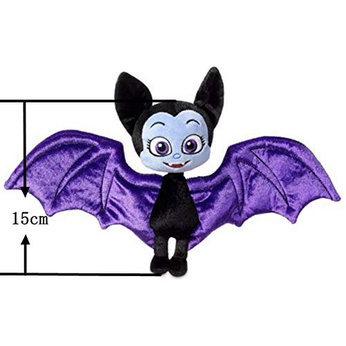 Rackies Movies & TV - 25cm Vampirina The Vamp Bat Girl and The Purple Dog Stuffed Animal Plush Doll Toy for Kids Girls 1 PCs]()