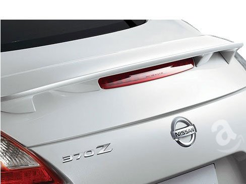 (09-13 Nissan 370z Hard-top Factory Style Spoiler - Painted or Primed : A1 Primer (you paint))