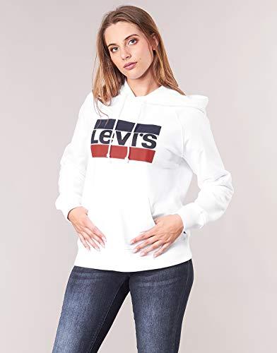 Levi's Graphic Sport Hoodie Elastico in Vita Donna 2