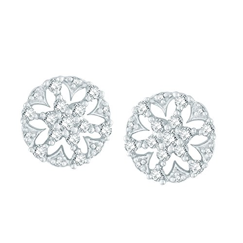 Giantti Diamant Boucle d'oreilles pendantes Femme (0,63CT, qualité HSI, Gh-colour)