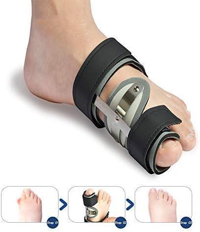 ヘルスパーソナルケア調節可能な腱膜瘤スプリント|Hallux Valgus Bunion Aidコレクター|足の親指セパレータプロテクターとして機能します|フットケア|男性と女性のために