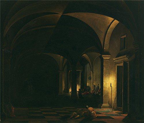 Oil Painting 'Steenwijck Hendrick Van La Negacion De San Pedro 17 Century' (Chrome Atlanta Soap)