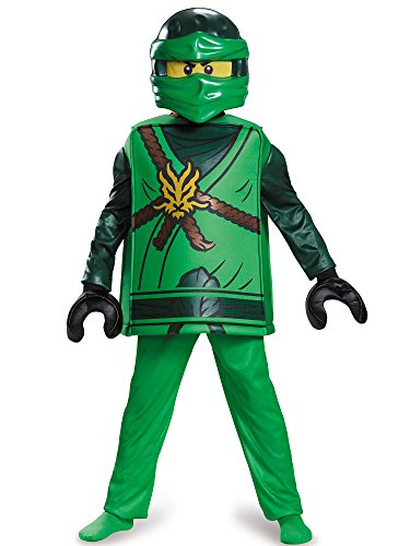 Lloyd Deluxe Ninjago Lego Costume, Medium/7-8 -