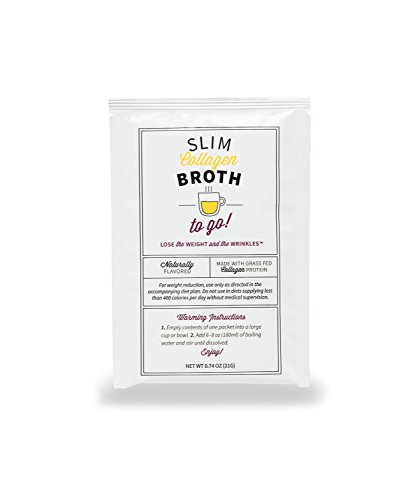 10-Day Belly Slimdown Bone Broth Collagen Pack by Dr. Kellyann - 10 Bone Broth Packets, 5 Keto Chocolate Almond & 5 Keto Vanilla Almond Protein Shakes - Weight loss, Keto, Paleo Diets (20 Servings) by Dr. Kellyann (Image #3)
