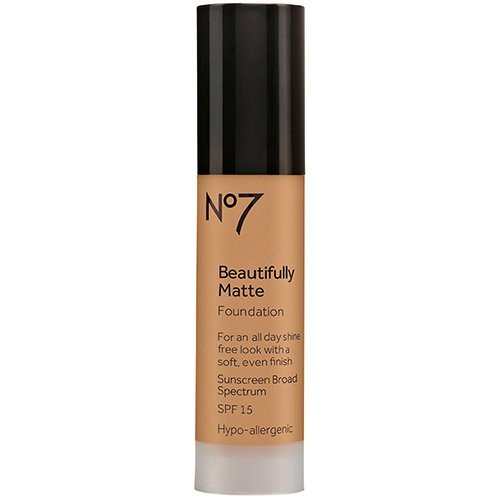 BOOTS No7 Beautifully Matte Foundation Cool Beige, 1fl oz