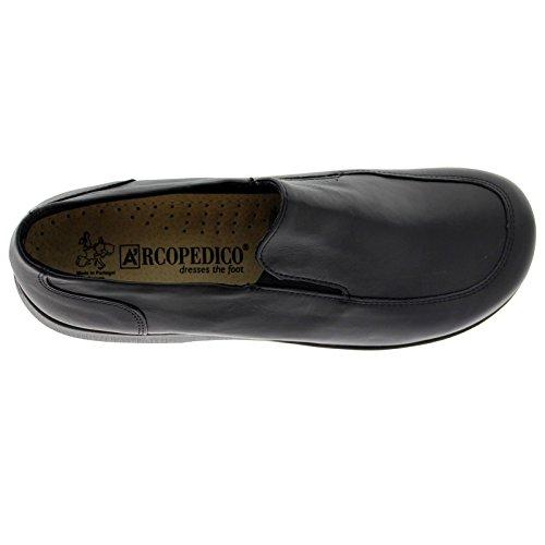 Arcopedico Womens Frisia Leather Shoes Schwarz ...