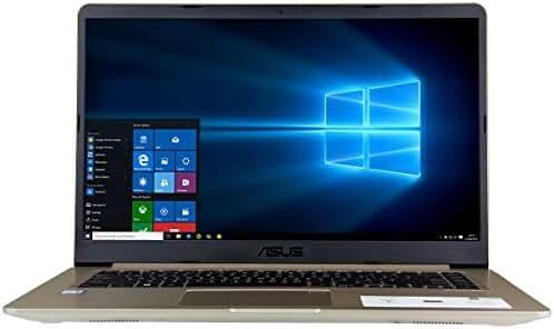 CUK ASUS VivoBook S510 Slim Compact Laptop (Intel i7-7500U, 32GB RAM, 250GB SSD + 2TB, 15.6