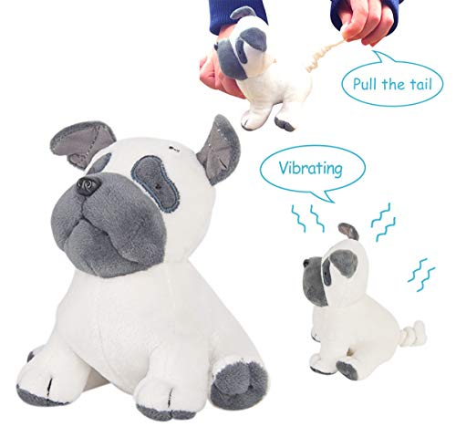 Vibrating Plush - Peacefulspeed Stuffed Animal, Soft Plush Vibrating Toy, Gifts for Kids, Puppy Arthur