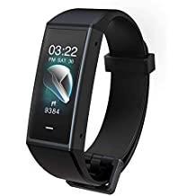 Wyze Band Activity Tracker with Alexa Built-In, Smart Watch Fitness Tracker, Heart Rate Monitor, Step Counter Sleep Monitor, High Res Color Touchscreen Phone & App Notifications, 5ATM Water Resistant