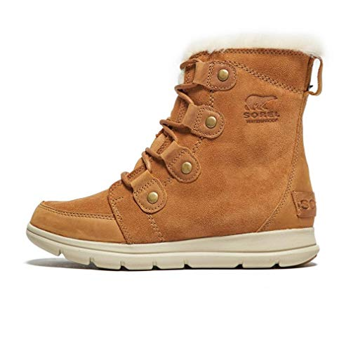 SOREL Women's Explorer Joan Boots, Camel Brown, 6.5 M US