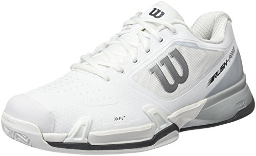 Wilson Wrs3226, Scarpe da Tennis Uomo Bianco (White/Pearl Blue/Iron Gate)
