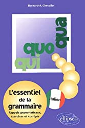 Qui, Quo, Qua : L'essentiel de la grammaire italienne