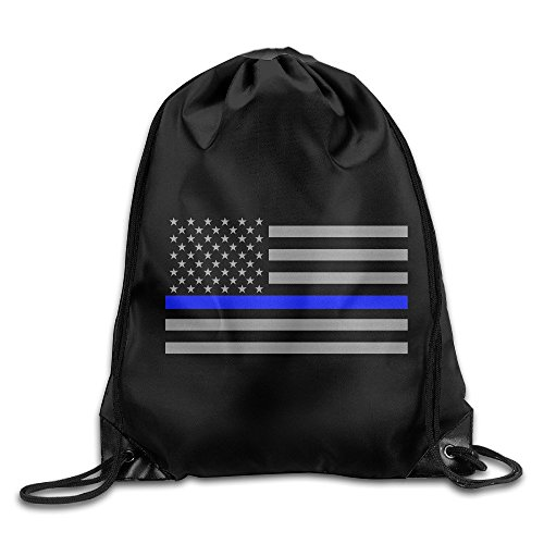 YYHU Thin Blue Line American Flag Home Travel Sport Storage Use - Great For Travel And Everyday Life (Nick Every W)