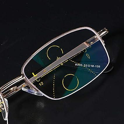 EgBert Progressive Multifokale Presbyopie-Lesebrille Im Freien Photochrome Linse 1.5