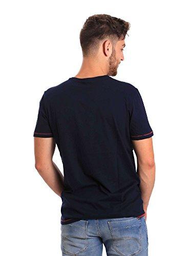 Jeans T Gaudi shirt Uomo 811bu64147 Blu Zxdqpwgd
