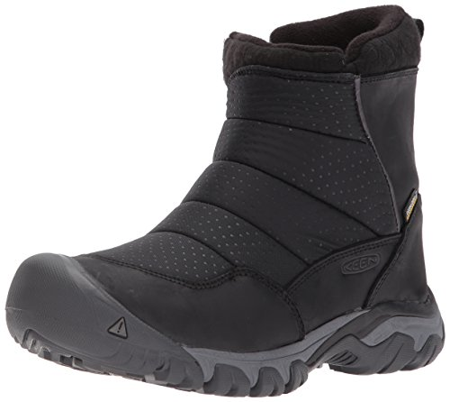 Keen Snow Boots (KEEN Women's Hoodoo III Low Zip-w Snow Boot, Black/Magnet, 9 M US)
