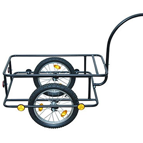 SKB Family Bike Trailer with Plastic Cart 23 Gal New Luggage Carrier Cargo