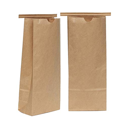 - AwePackage 1 lbs(16 oz) Compostable Kraft Paper Tin Tie Bag (100)