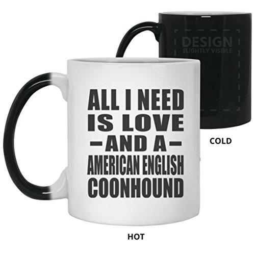 Pet Lover Magic Mug, All I Need Is Love And A American Engli