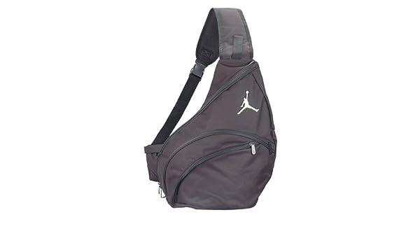 2ba7fc4c0cb nike air jordan jumpman sling backpack bag black