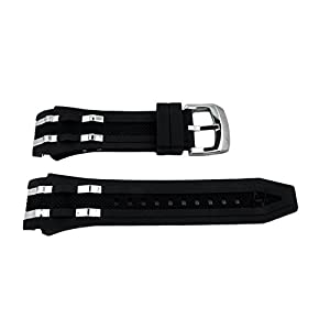 Genuine Invicta BOLT Black Watch Strap For Model 17466, 17464