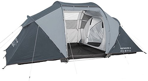 GoldenShark-PREMIUM-4-Full-Size-4-Person-Outdoor-  sc 1 st  Discount Tents Nova & GoldenShark PREMIUM 4 u2013 Full Size 4 Person Outdoor Tent 2 Rooms ...