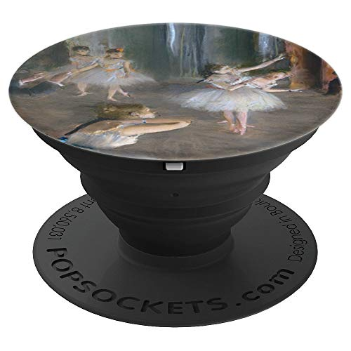 Degas Rehearsal on Stage Modern Art Painting - PopSockets Grip and Stand for Phones and Tablets