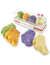 "Baby ""Caterpillar Crawlers"" Baby Socks Gift Set, Multi, 0-6 months"