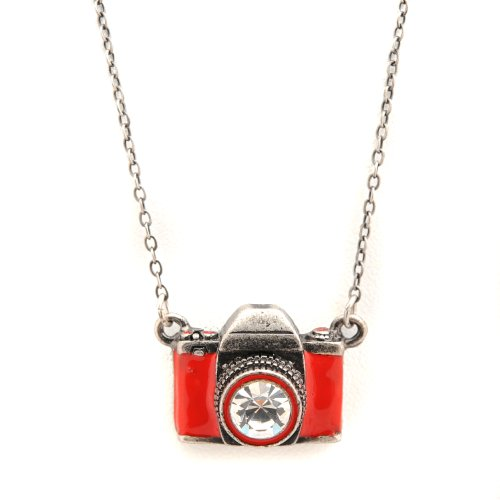 red camera necklace - 6