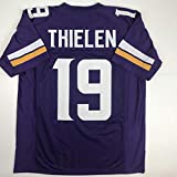 Unsigned Adam Thielen Minnesota Purple Custom