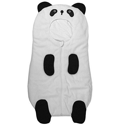Eonkoo Cute Panda Sleeping Bag for babay,High Quelity 100% cotton Sack Romper Fleece Sleepwear Swaddle Unisex (Halo Suits For Kids)