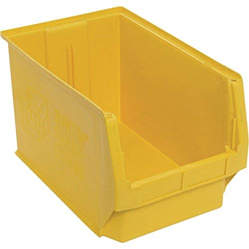 Quantum Storage Magnum Bin - 3-Pack, 19 3/4in.L x 12 3/8in.W x 11 7/8in.H, Yellow, Model# QMS533YL