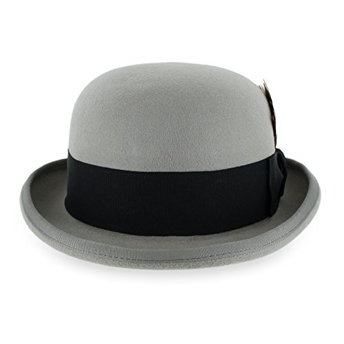 Belfry Tammany Men's Vintage Style Dress Fedora 100%