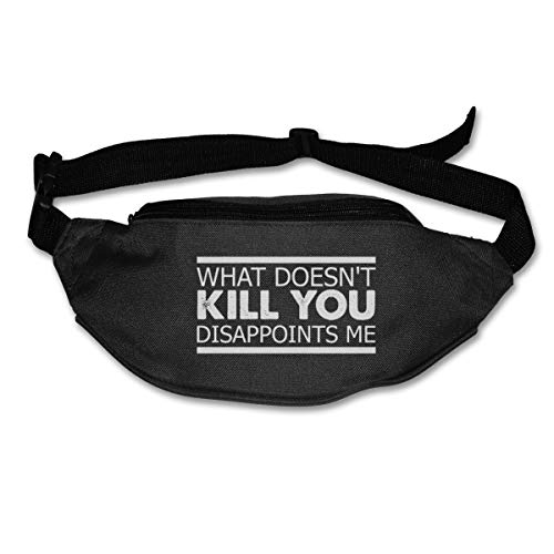 What Doesn't Kill You Disappoints Me Sport Waist Packs Fanny Pack For Travel