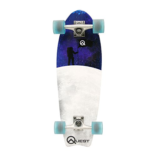 Quest Fishtail Cruiser Board Skateboard (27-Inch) for sale  Delivered anywhere in USA