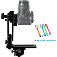 FOTOMATE 360 degree Panoramic Tripod Head Gimbal Bracket Kit Fit For Canon Nikon and Other DSLR Cameras+Huihuang USB LED Free Gift